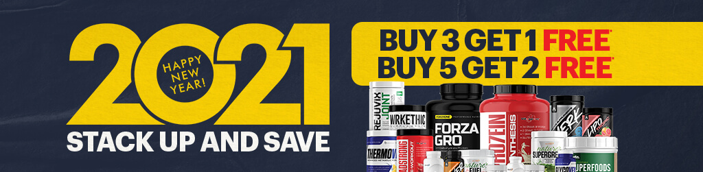 Happy New Year! 2021 Stack up and save. Buy 3 get 1 free. Buy 5 get 2 free.